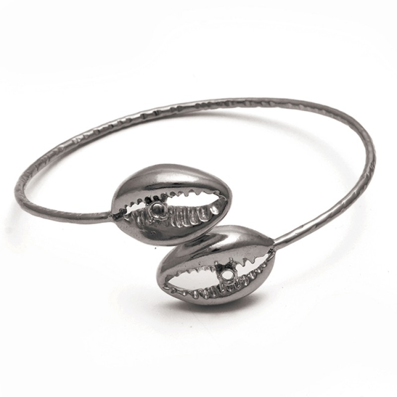 925 Sterling Silver Jewelry Plain Handmade Designer Gold Plated Bangle