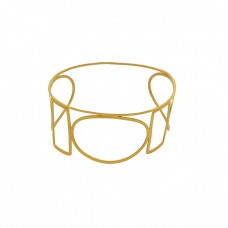 Plain Handmade Designer Gold Plated 925 Silver Jewelry Bangle