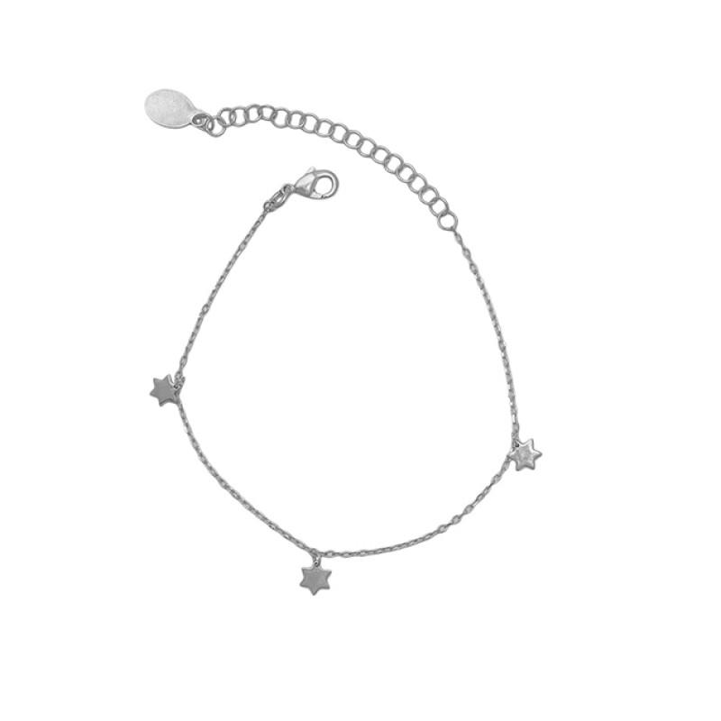 925 Sterling Silver Jewelry Gold Plated Handmade Designer Bracelet