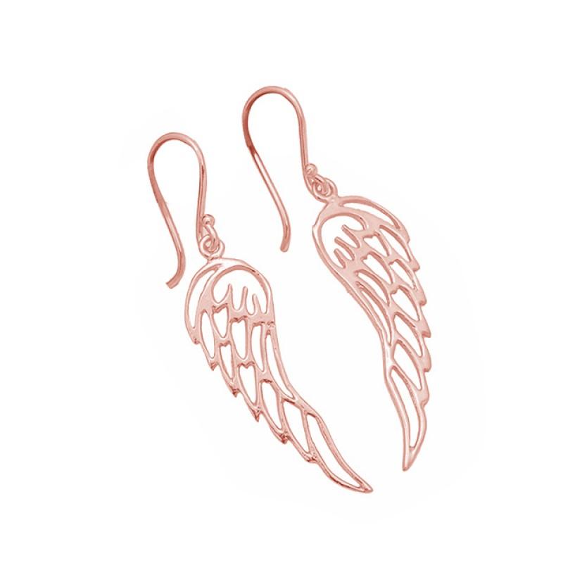 Filigree Style Plain Handmade Designer 925 Sterling Silver Gold Plated Earrings