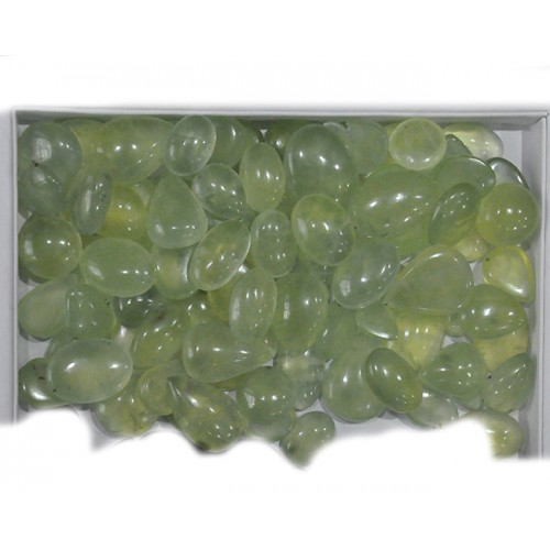 Natual Prehnite Cabochon Loose Gemstone Mix Shape Size Wholesale Lots For Jewelry