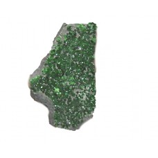 Natural Uvarovite Loose Gemstone Pieces Mix Shape Size For Jewelry