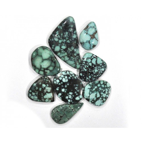Turquoise Cabochon Loose Gemstone Mix Shape Size Bunch Lots For Jewelry