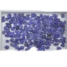 Blue Milky Tanzanite Cabochon Loose Gemstone Mix Shape Size Wholesale Lots For Jewelry