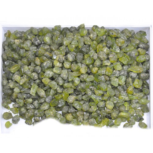 Peridot Rough Pieces Loose Gemstone Mix Shape Size Wholesale Lots For Jewelry