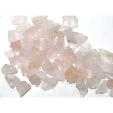 Rose Quartz Pieces Loose Gemstone Mix Shape Size Bunch Lots For Jewelry