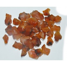 Carnelian Rough Pieces Loose Gemstone Mix Shape Size Lots For Jewelry