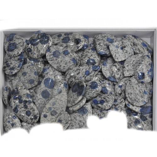 K2 Azurite Granite Cabobhon Loose Gemstone Mix Shape Size Lots For Jewelry