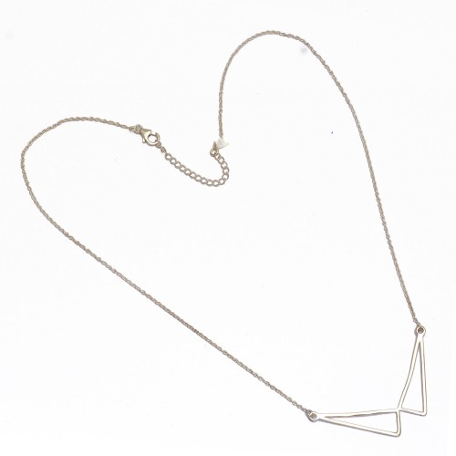 Handcrafted Plain Stylish Necklace 925 Sterling Silver Jewelry