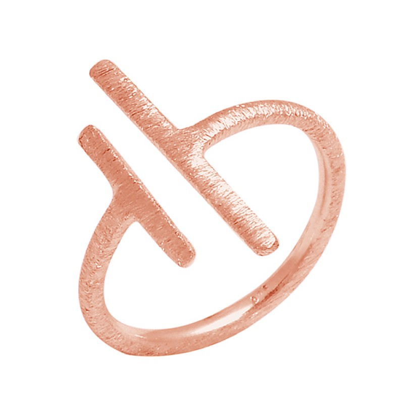 925 Sterling Silver Unique Plain Designer Handmade Ring Jewelry