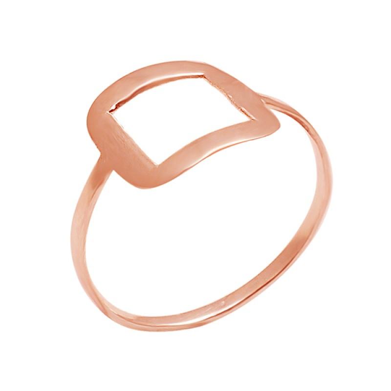 Handmade Stylish Plain Designer 925 Sterling Silver Ring Jewelry