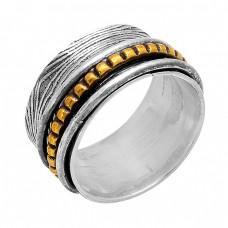 Fashionable Plain Handmade Designer 925 Sterling Silver Spinner Ring