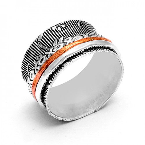 Attractive Handcrafted Plain Designer 925 Sterling Silver Ring Jewelry