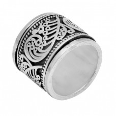 New Stylish Plain Handmade Designer 925 Sterling Silver Ring Jewelry