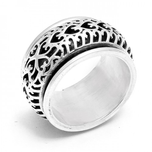 925 Sterling Silver Plain Stylish Designer Ring Jewelry