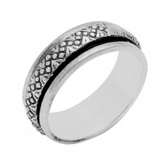 Handmade Plain Designer 925 Sterling Solid Silver Ring Jewelry