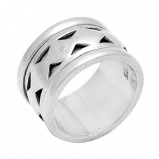 925 Sterling Silver Plain Handmade Designer Ring Jewelry