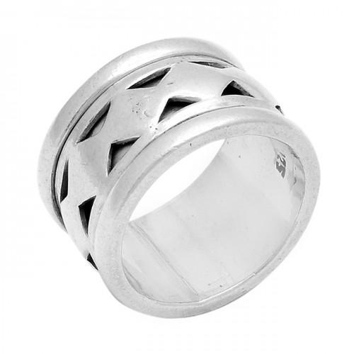 925 Sterling Silver Plain Handmade Designer Ring Jewelry