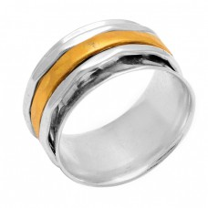 Latest Plain Handmade Designer 925 Sterling Solid Silver Ring Jewelry