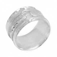 925 Sterling Solid Silver Plain Handmade Designer Ring Jewelry