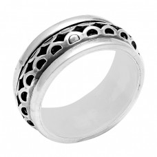 Fashionable Plain Designer 925 Sterling Silver Ring Jewellery