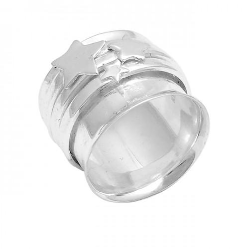 925 Sterling Silver Plain Handmade Designer Ring Jewellery