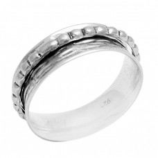 925 Sterling Solid Silver Plain Handmade Designer Ring Jewellery