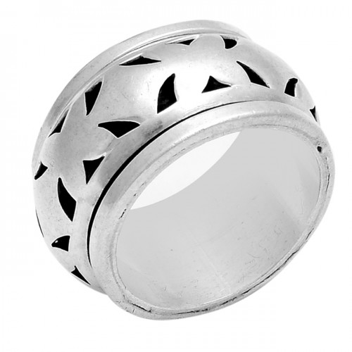 925 Sterling Silver Plain Designer Unique Ring Jewellery