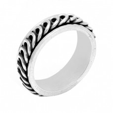 925 Sterling Silver Plain Handmade Designer Ring Jewellery