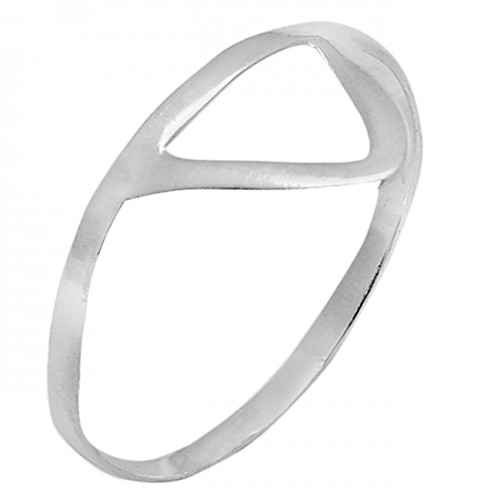 Plain Designer Handmade 925 Sterling Silver Light Weight Ring Jewelry