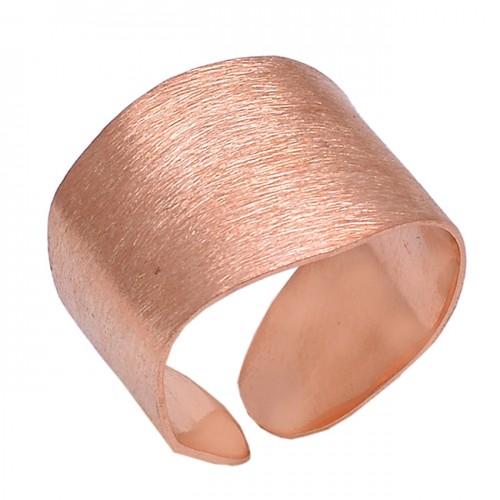 Plain Handmade Designer 925 Sterling Silver Jewelry Adjustable Ring