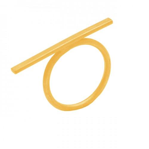 925 Sterling Silver Plain Handmade Black Rhodium Designer Ring Jewelry