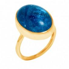 Oval Cabochon Chrysocolla Gemstone 925 Sterling Silver Handmade Designer Ring