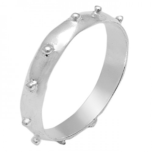 Plain Designer Handmade 925 Sterling Silver Bands Ring Jewelry