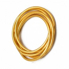 925 Sterling Silver Plain Silver Wire Designer Gold Plated Ring Jewelry